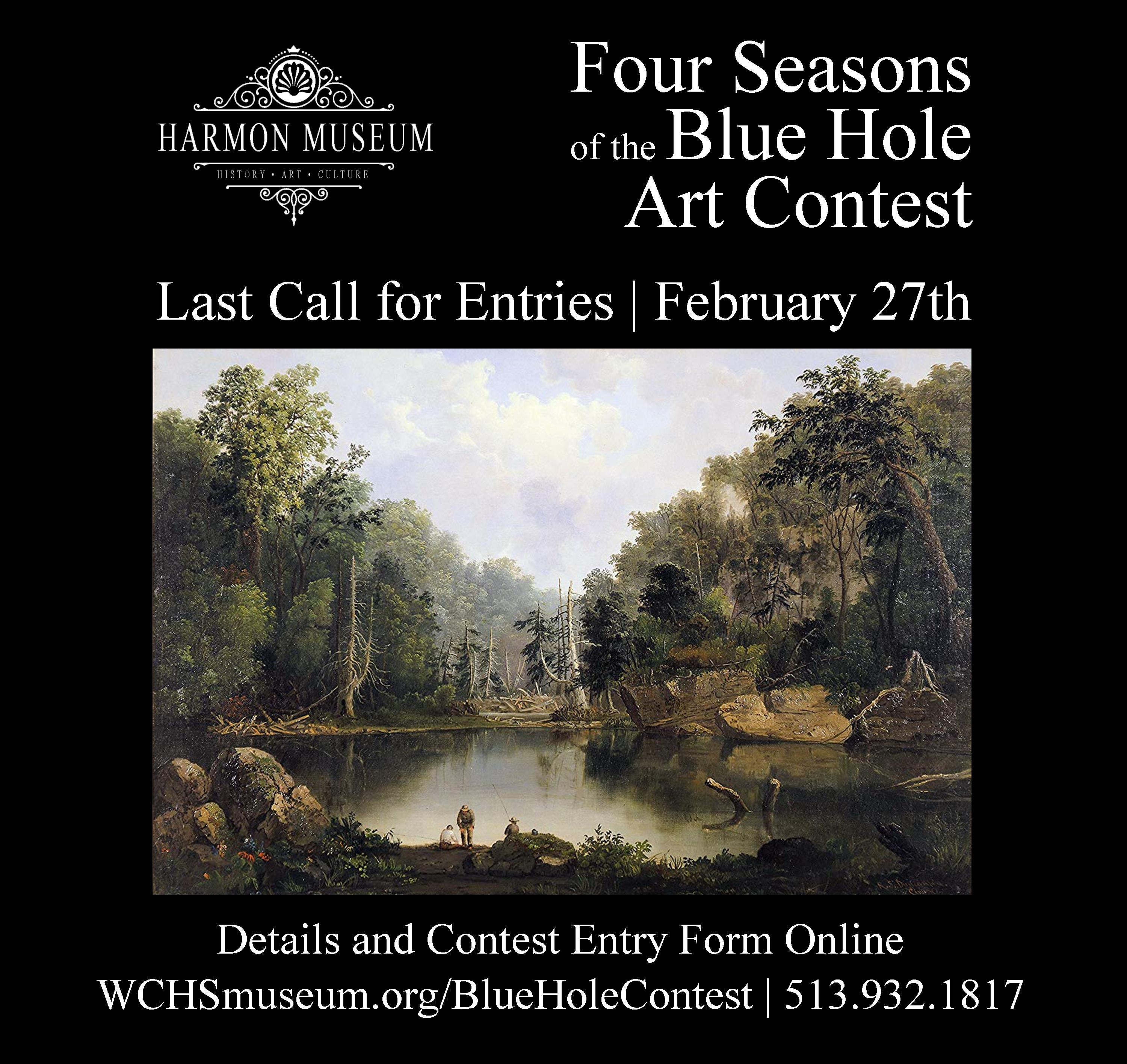 Four Seasons of the Blue Hole Art Contest