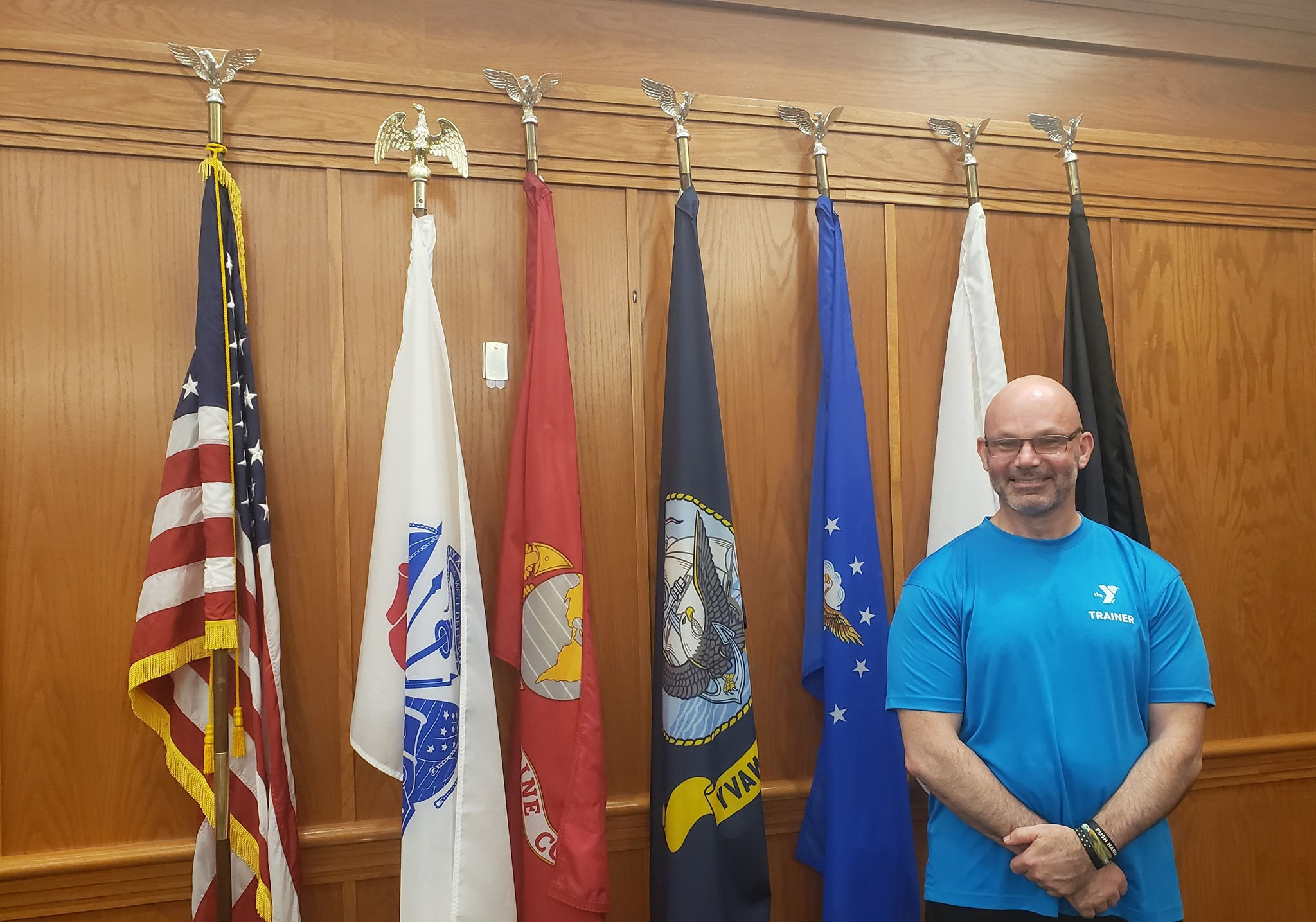Mike Morang : Mike Morang, a former Senior Medical Advisor in the Navy, is now an ACE certified personal trainer who leads Countyside YMCA's newest program, Veterans Connect.
