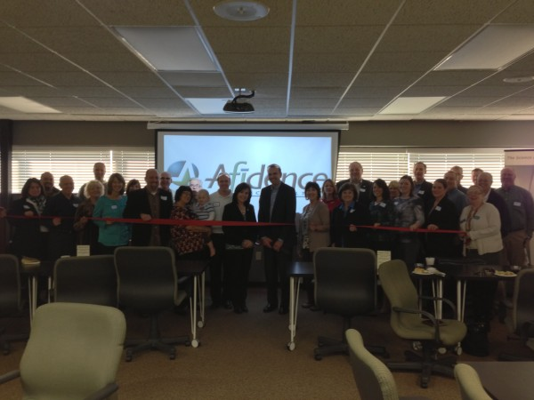 Afidence Celebrates a Ribbon Cutting