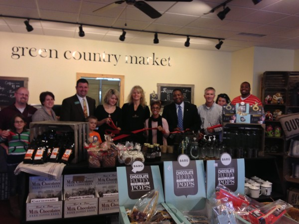 Green Country Market Celebrates Ribbon Cutting
