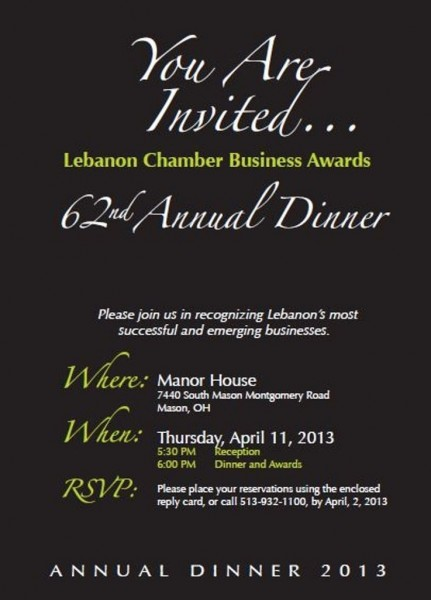 Annual Awards Dinner Coming Soon!!