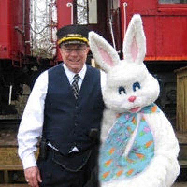 Hop Aboard the Easter Bunny Express