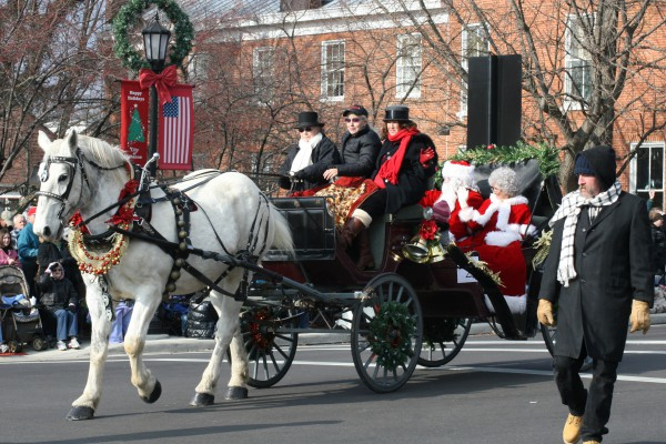 carriage parade
