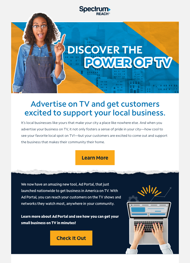 Discover the Power of TV