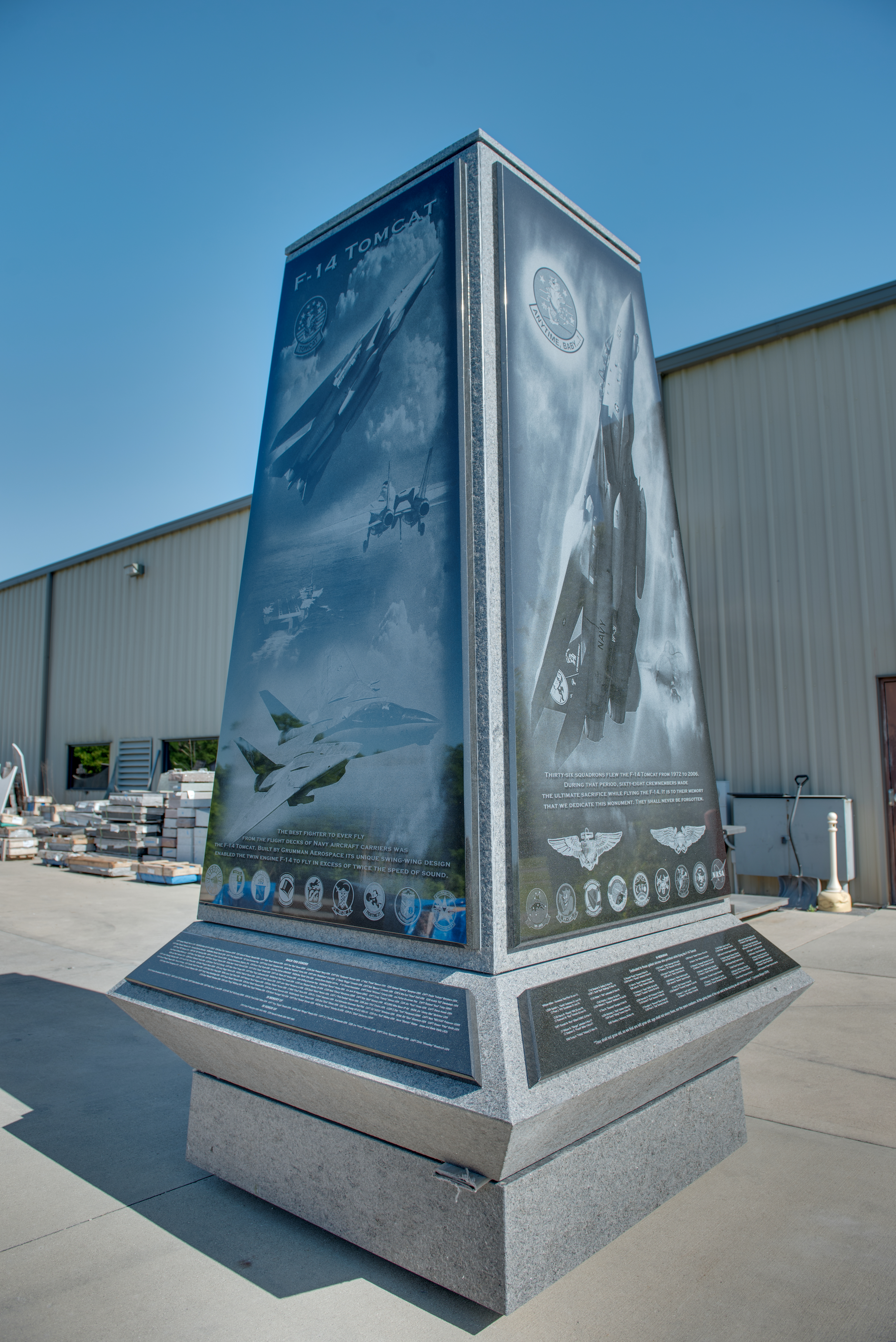 The New F14 Monument